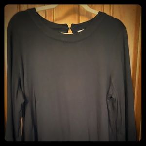 Black 3/4 length Boden top